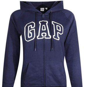 Women's fleece arch logo Full Zip Hoodie